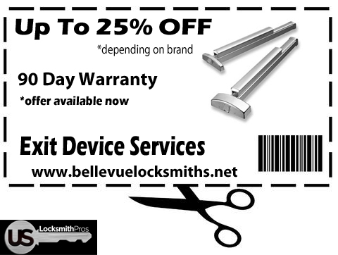 Exit Devices & Panic Bars Bellevue WA Coupon